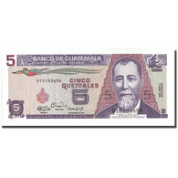 Billet, Guatemala, 5 Quetzales, 1990, 1990-01-03, KM:74a, NEUF - Guatemala