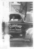 PHOTO RARE GARCHES USINE CLODOLAIT 103 RUE DE BURENVAL CAMION DE LIVRAISON FORMAT 9 X 6 CM - Garches