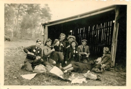 RAMBOUILLET 1943 PHOTO ORIGINALE FORMAT  9 X 6 CM - Orte