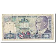 Billet, Turquie, 1000 Lira, L.1970, KM:196, B+ - Turquie