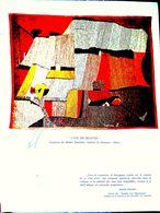 21 CLOS VOUGEOT TASTEVIN APOLLO JULES VERNE CHAPITRE DE L'ESPACE MENU DEDICACE PAR LES TROIS ASTRONAUTES 1969 - Menus