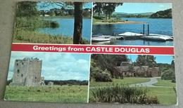 GREETINGS FROM CASTLE DOUGLAS  (375) - Saluti Da.../ Gruss Aus...
