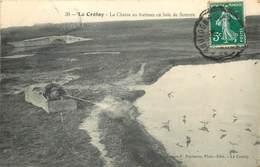 LE CROTOY- Chasse Au Hutteau En Baie De Somme - Le Crotoy