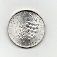 Vaticano - 1971 - 500 Lire Paolo VI° - Anno IX° - Argento 835 - (Vedi Foto) - (MW2386) - Vaticano