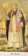 SANTINO   Pieuse Image Religieuse Holy Card San Giacinto - Religione & Esoterismo