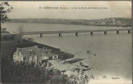 1441 Champtoceaux - Le Port Du Moulin Et Le Pont Sur La Loire. - Champtoceaux
