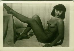 RISQUE - NAKED / NUDE WOMAN GREAT REAL AMATORIAL PHOTO 1960s (BG657) - Bellezza Femminile Di Una Volta < 1941-1960