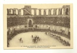 13 ARLES FETE PROVENCALE GARDIANS ARENES CAMARGUE BOUCHES DU RHONE - Arles