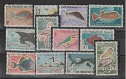 Cote Des Somalis 1959 Série 292 à 303 12 Val Neuf ** MNH - Neufs
