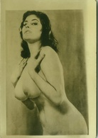 RISQUE - NAKED / NUDE WOMAN GREAT REAL AMATORIAL PHOTO 1960s (BG659) - Bellezza Femminile Di Una Volta < 1941-1960