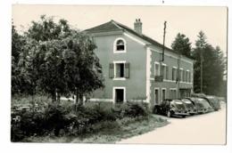 Val D'Ajol - Cafe-Restaurant-Pension -  Hotel Enfoncé (automobile, 203 Peugeot, Carotte (bureau De Tabac) Pas Circulé - France