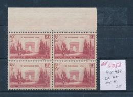 Frankreich Nr. 4x 434 **/*  (ed5053   ) Siehe Scan - Francia