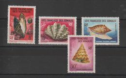 Cote Des Somalis 1962 Série 311 à 314 4 Val Neuf ** MNH - Unused Stamps