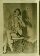 RISQUE - NAKED / NUDE WOMAN GREAT REAL AMATORIAL PHOTO 1960s (BG661) - Bellezza Femminile Di Una Volta < 1941-1960