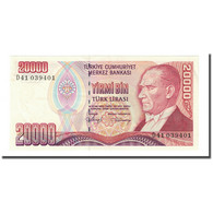 Billet, Turquie, 20,000 Lira, L.1970, KM:201, NEUF - Turquie