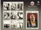 Kuwait New Issue 2014, Aheikh Jaber World Unesco ,sheetlet Of 10 Stamps Compl.MNH - Scarce -limited-SKRILL PAY ONLY - Kuwait