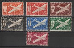 Cote Des Somalis 1943 Série PA 1 à 7 7 Val Neuf ** MNH - Ungebraucht
