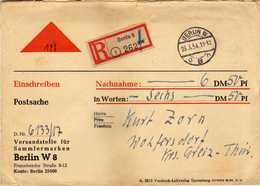 Germany - Berlin Postamt 8 Berlin W 1954 - Covers & Documents