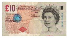 Billet, Grande-Bretagne, 10 Pounds, 2000-2003, KM:389b, TB - 10 Pounds