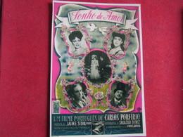 Publicidade E Ilustração Portugal Século XX - Cartaz Do Filme Sonho De Amor - Portugal