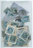 FRANCE - CLASSIQUES : LOT De 100 N°29. La Plupart B à TB. Nuances, Oblitérations. - 1863-1870 Napoléon III Lauré