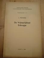 De Vrijheerlijkheid Ertbrugge Schellebelle Wetteren Serskamp 1953 36 Blz - Histoire