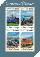 Sao Tome 2013 African Trains - Sao Tome And Principe