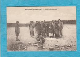 Militaria. - Guerre Européenne 1914. - Le Rapport Chez Les Indiens. - Characters