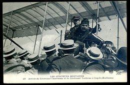 Cpa Du 92  Issy Les Moulineaux -- Arrivée Du Lieutenant Camermann Et Vuillerme   JM3 - Issy Les Moulineaux