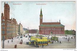 KOBENHAVN:  RAADHUSPLADSEN  -  TO  AUSTRIA  -  KLEINFORMAT - Danimarca