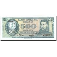 Billet, Paraguay, 500 Guaranies, KM:200b, NEUF - Paraguay