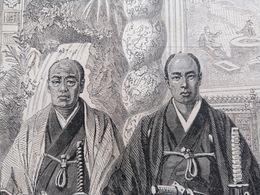 1862 LES AMBASSADEURS JAPONAIS DANS L'ATELIER DE M. NADAR - 1850 - 1899