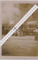 "ORIGINELE FOTO STOOMTRAM HOEILAART-GROENENDAAL -PUBLICITEIT OP TRAM ""BRASSERIE VAN LIER"" 6/9CM - Foto's"