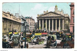 LONDON:  THE  ROYAL  EXCHANGE  -  TO  GERMANY  -  FP - Collector Fairs & Bourses