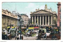 LONDON:  THE  ROYAL  EXCHANGE  -  TO  GERMANY  -  FP - Borse E Saloni Del Collezionismo