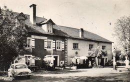 CPSM  -  VELLEMINFROY  (70)  Hostellerie Du Chateau - Grenouille - R.N 19  Paris_Bale - Pompe A Essence Caltex - Andere Gemeenten