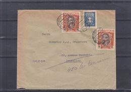 Lituanie - Lettre De 1932 ° - Oblit Klaipeda - Exp Vers Bruxelles - - Lituanie