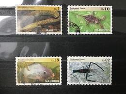 Mauritius / Maurice - Complete Set Waterdieren 2016 - Mauritius (1968-...)