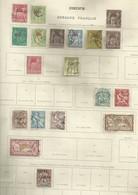 Lot Bureaux Francais En Chine - China (1894-1922)