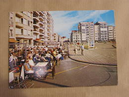 KNOKKE-HEIST Albertstrand Rubensplein Animée Flandre Belgique Carte Postale - Knokke