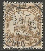 German East Africa - 1905 Kaiser's Yacht 2.50h Fine Used  Sc220 - Colony: German East Africa