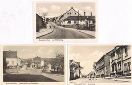 Lot 3 AK Quierschied, Am Mühlenberg, Holzerstraße Und Grubenweg Um 1940 - Other