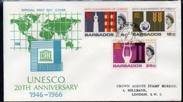 BARBADOS, 1966 UNESCO FDC - Barbados (1966-...)