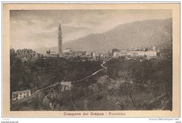 CRESPANO  DEL  GRAPPA:  PANORAMA  -  FP - Treviso