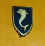 12° Rgt De Cuirassiers, émail, 39 Mm, Dos Guilloché, 1 Boléro Drago, FABRICANT DRAGO PARIS,HOMOLOGATION 169,  BON ETAT V - Armée De Terre