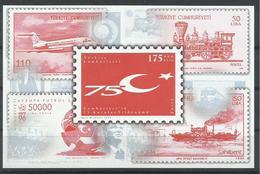 TURQUIA YVERT H/B 36  MNH  ** - 1921-... República