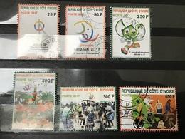 Ivoorkust / Ivory Coast - Complete Set Francophone Games 2017 HIGH VALUE!! - Ivory Coast (1960-...)