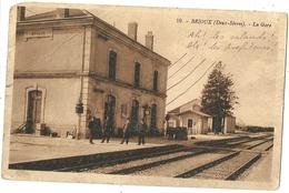 BRIOUX.  La Gare. - Brioux Sur Boutonne