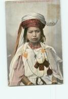ALGERIE - Femme Kabyle Du Sud Algérie - Carte Colorisée - 2 Scans - Women