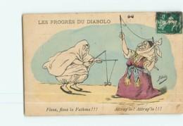 Illustrateur ASSUS - Les Progrès Du DIABOLO - Fissa ïa Fathma !!! - 2 Scans - Other